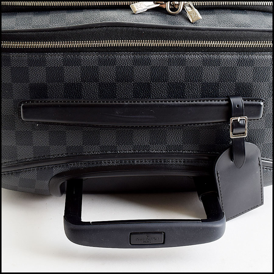 Louis Vuitton Damier Graphite Pegase Business Carry on handle
