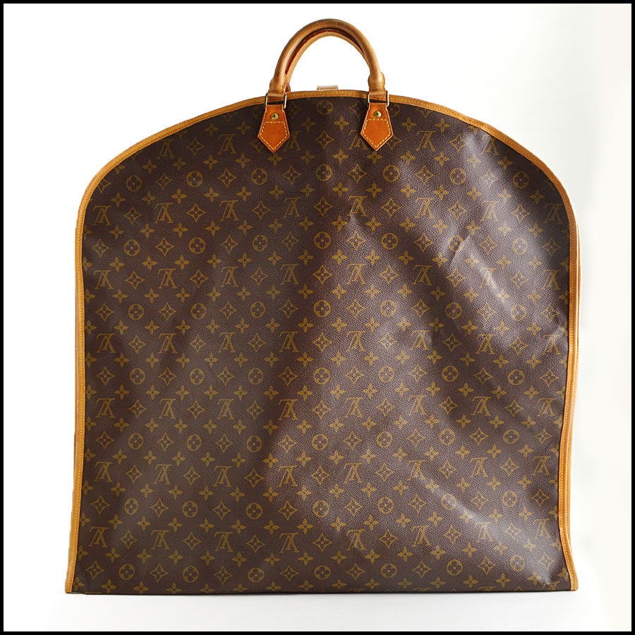 RDC8645 Louis Vuitton Monogram Porte Housse Garment Bag back