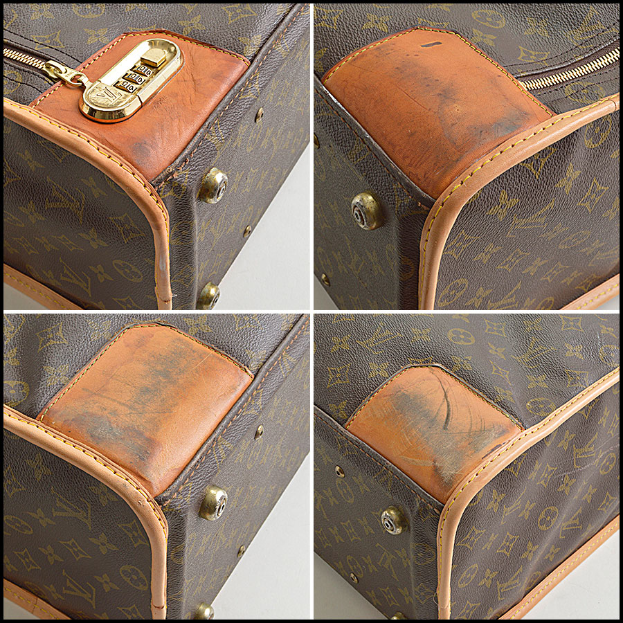 RDC8851 Louis Vuitton Pullman Suitcase corners