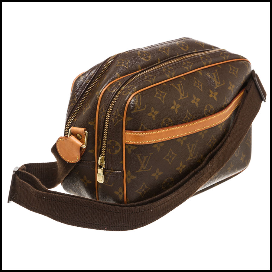 RDC7869  Louis Vuitton LV Monogram Canvas Reporter PM Crossbody handle