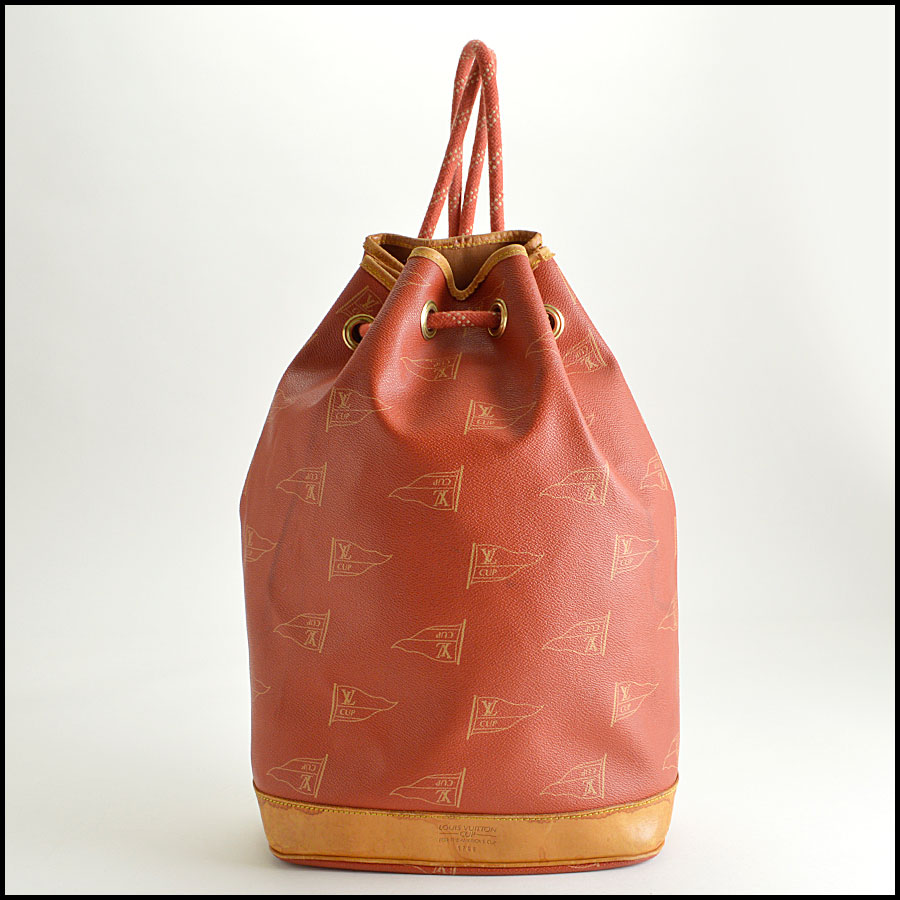 RDC8258 Louis Vuitton Red Saint Tropez Cup Shoulder Bag