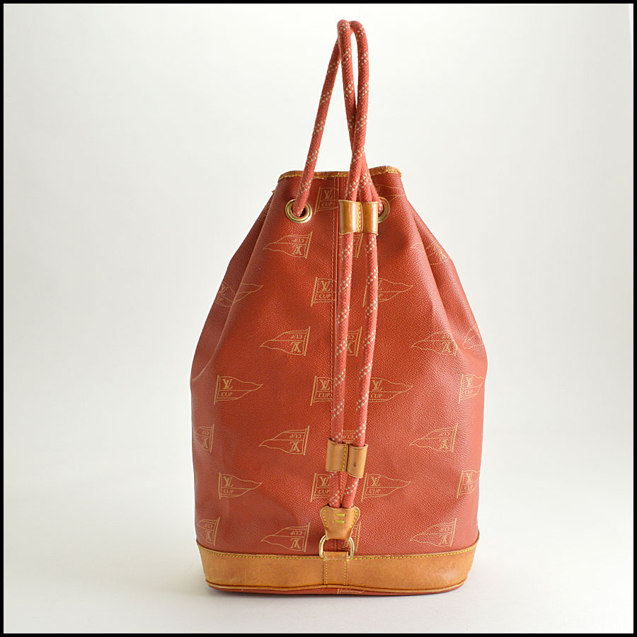 RDC8258 Louis Vuitton Red Saint Tropez Cup Shoulder Bag back