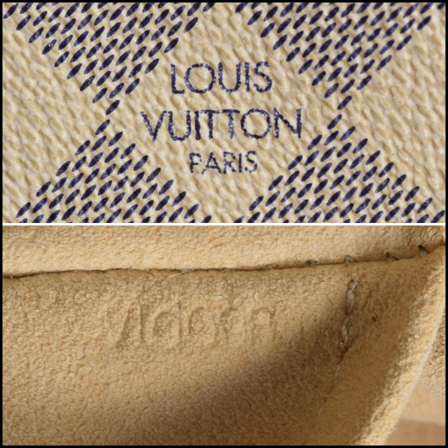 RDC9541 Louis Vuitton Saleya tag