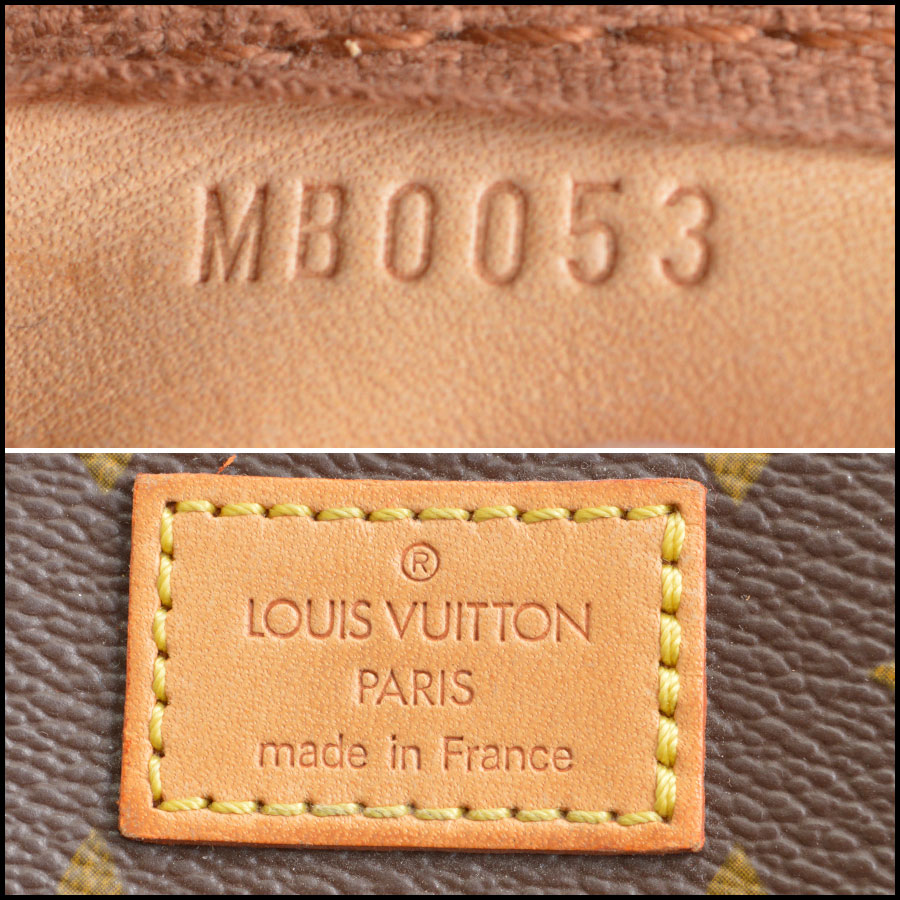 RDC8852 Louis vuitton sawmur tag