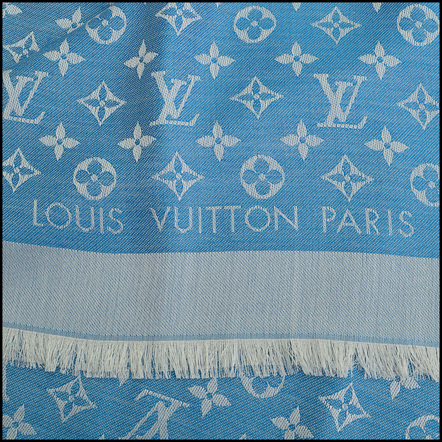 RDC8952 Louis Vuitton Large Scarf tag 3