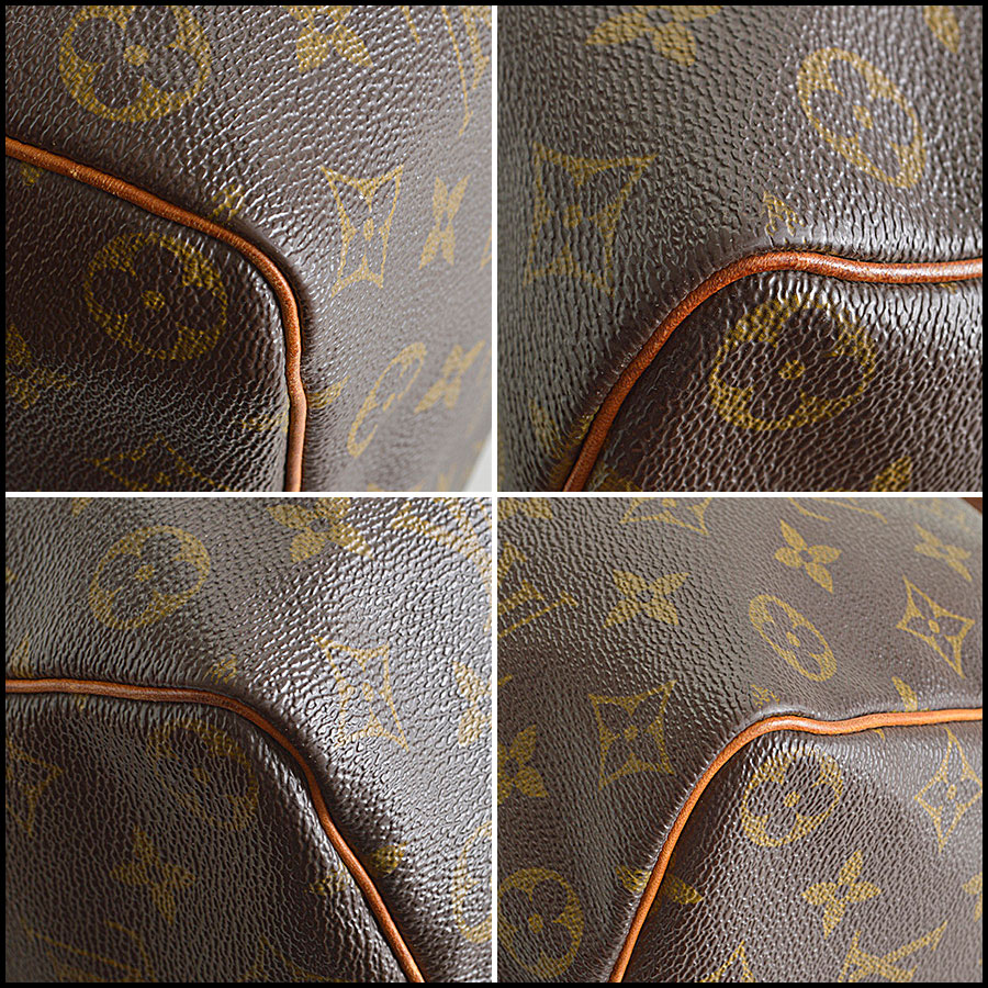 RDC8392 Louis Vuitton LV Monogram Speedy corners