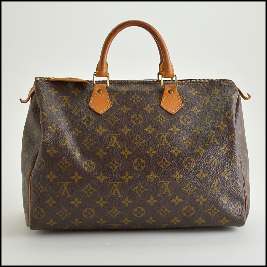 RDC8392 Louis Vuitton LV Monogram Speedy back