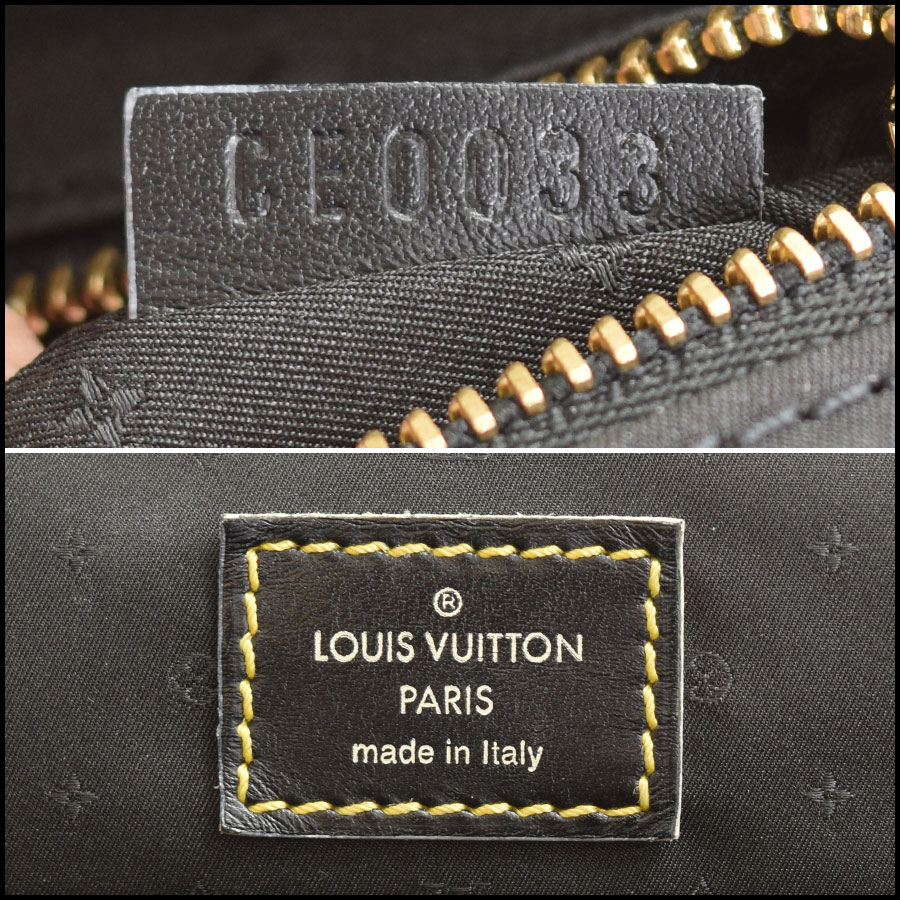 RDC9130 Louis Vuitton Suhali tag