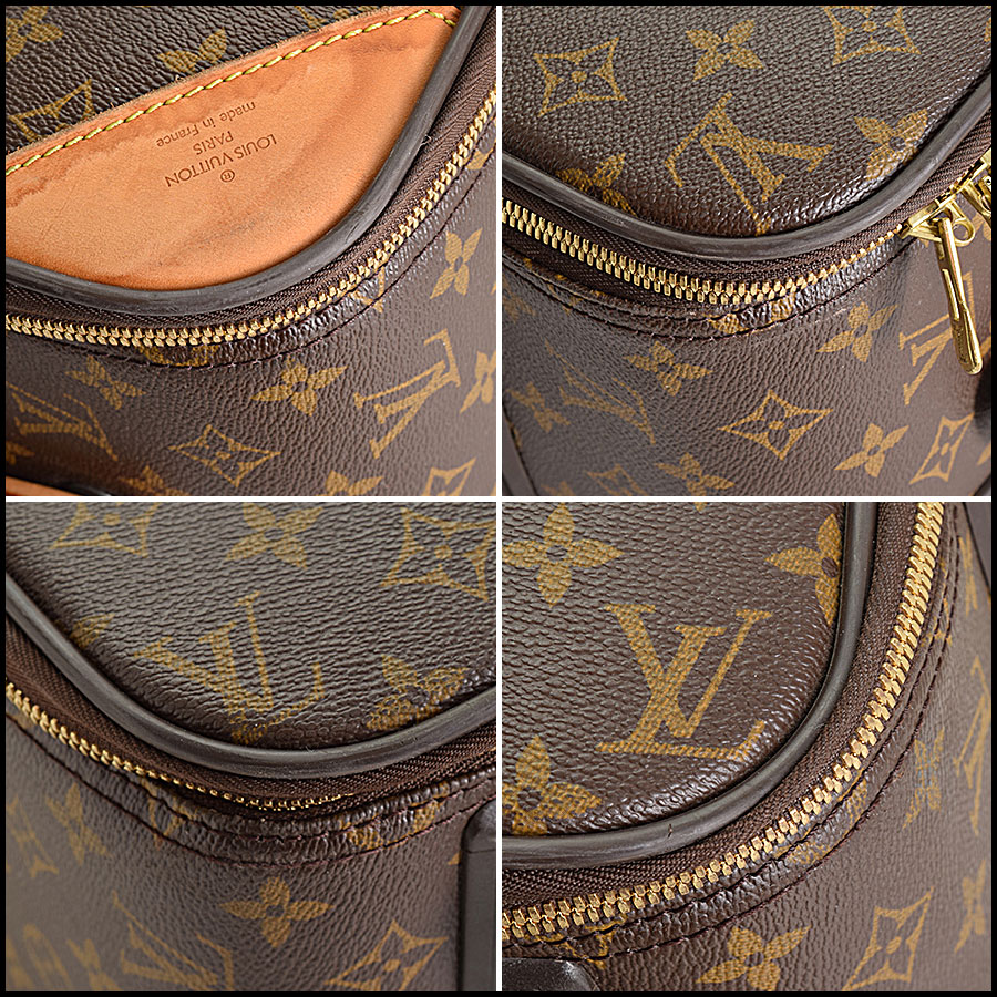 RDC9315 Louis Vuitton Pegase 55 Suitcase upper corners