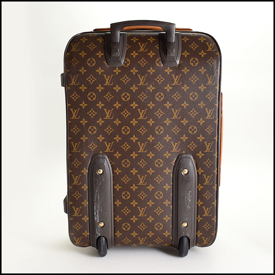 RDC9315 Louis Vuitton Pegase 55 Suitcase back