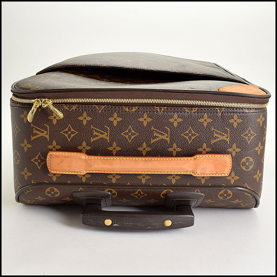 RDC9315 Louis Vuitton Pegase 55 Suitcase handle