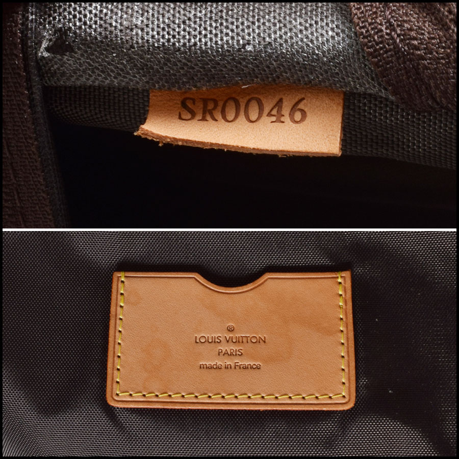 RDC9315 Louis Vuitton Pegase 55 Suitcase tag