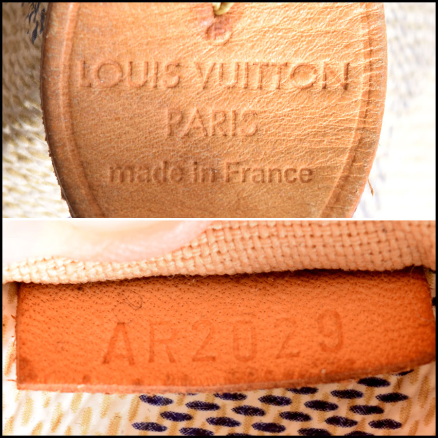 RDC9145 Louis Vuitton Totally GM tag