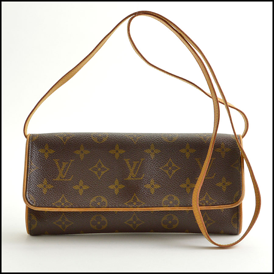RDC8881 Louis Vuitton LV Monogram Twin Pochette GM