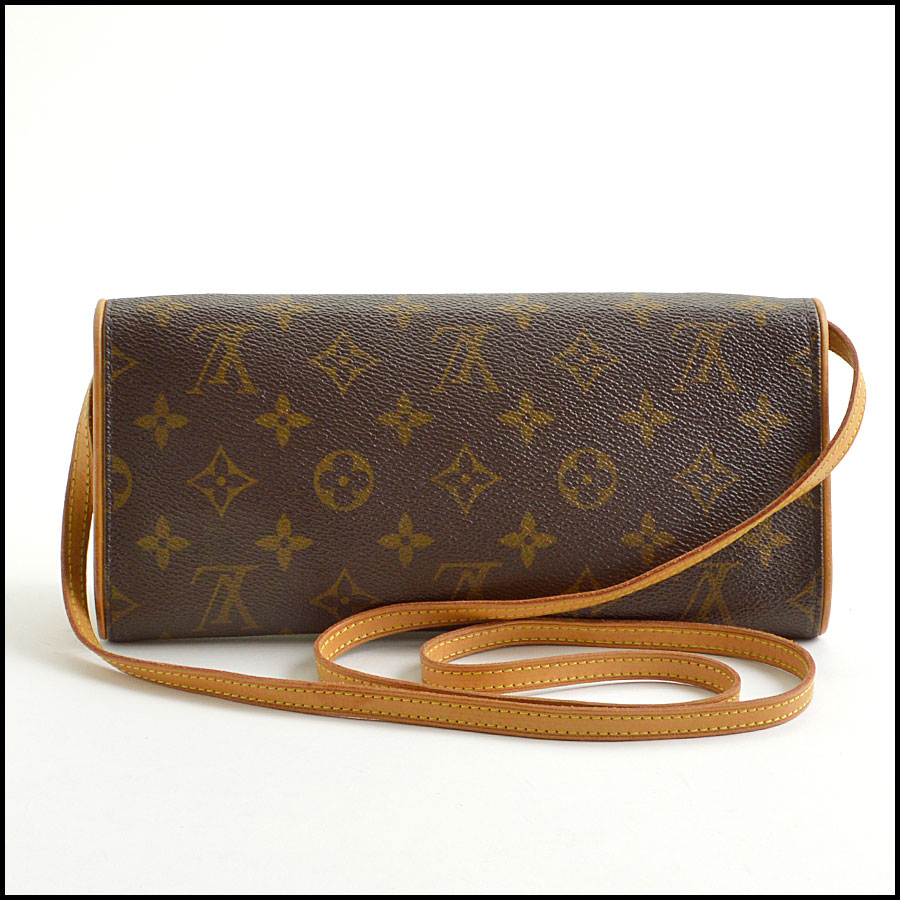 RDC8881 Louis Vuitton LV Monogram Twin Pochette GM back