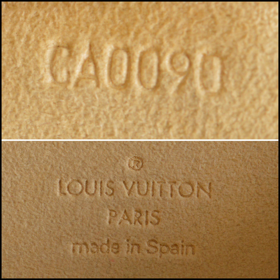 RDC8881 Louis Vuitton LV Monogram Twin Pochette GM tag