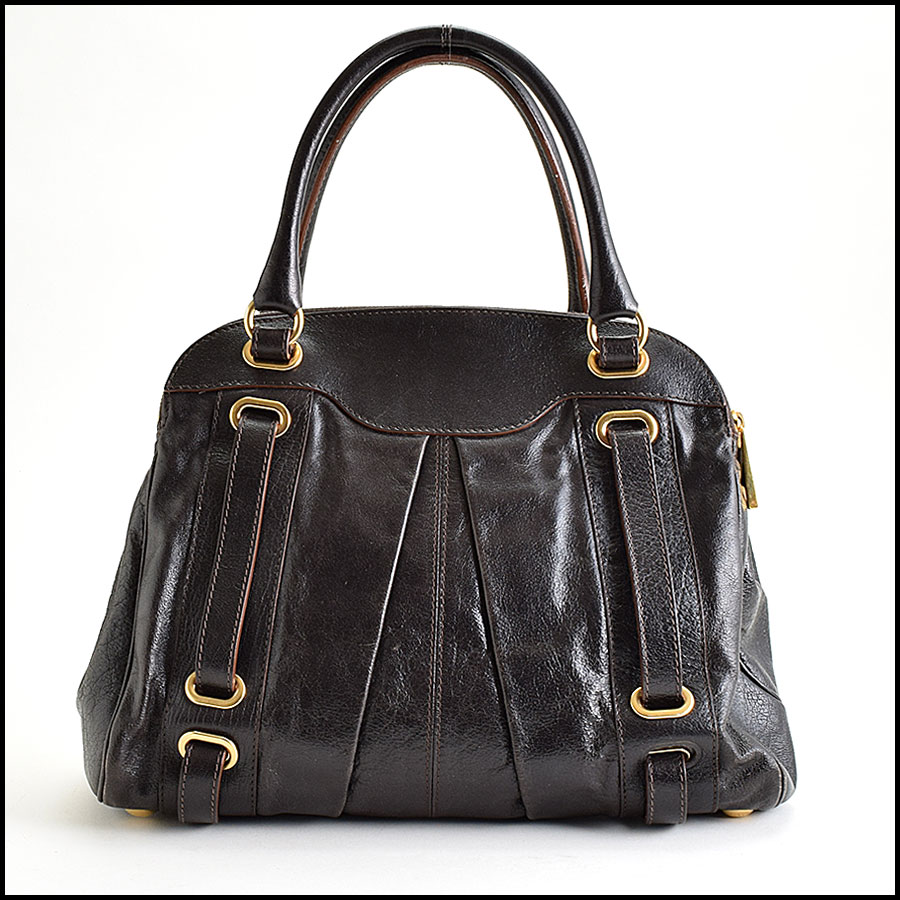 RDC9402 Marc Jacobs Dark Brown Hudson back
