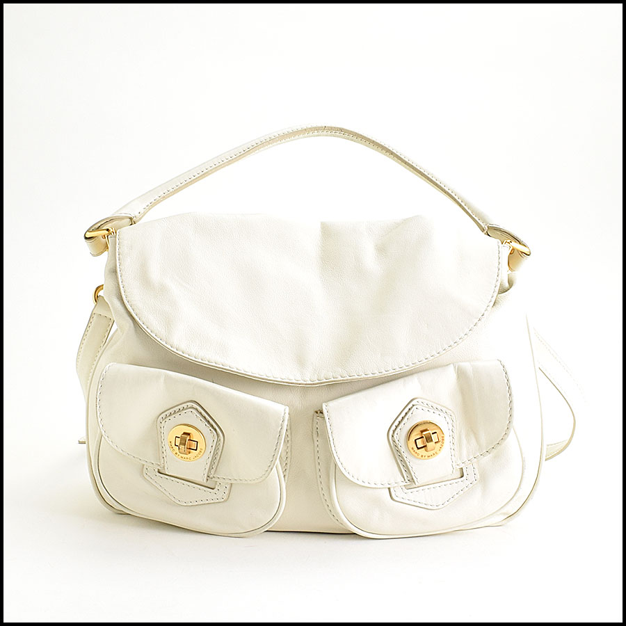 RDC9450 Marc Jacobs white hobo bag