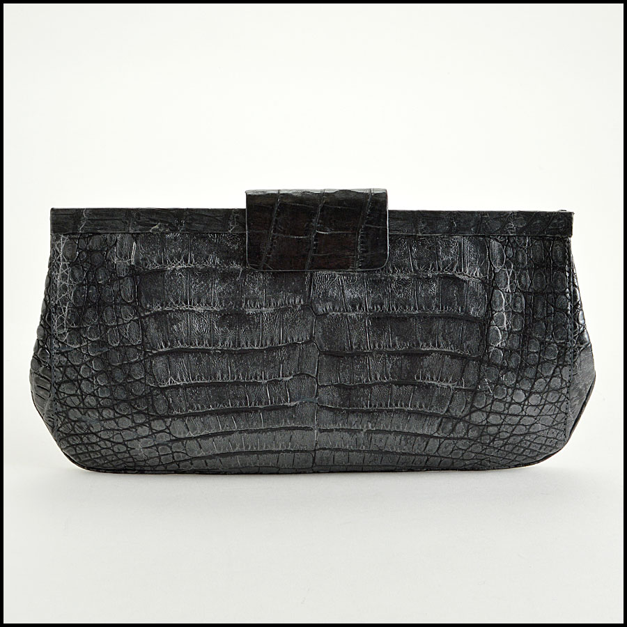 RDC7748 Nancy Gonzalez Crocodile Clutch
