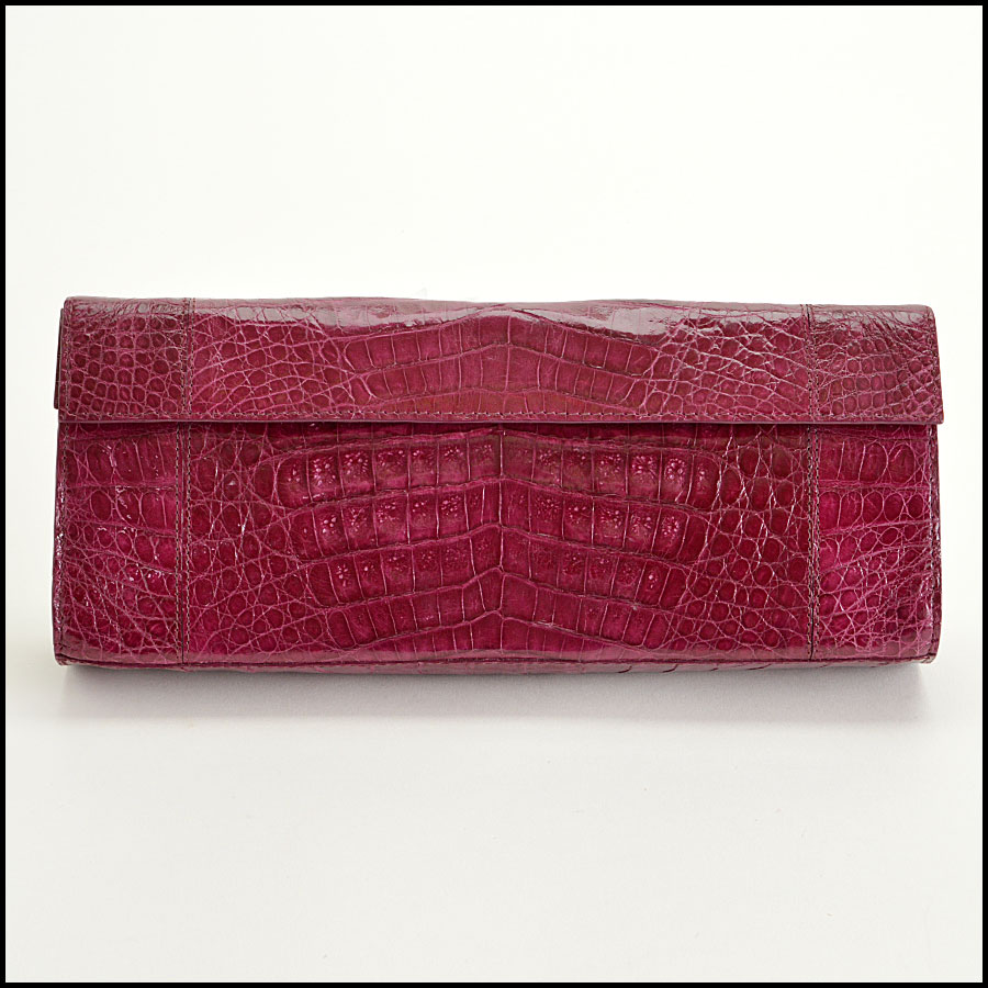 Nancy Gonzalez Crocodile Clutch Handbag