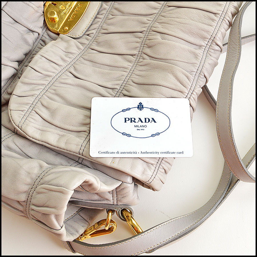 RDC8551 Prada Gaufre Dressy Bag includes