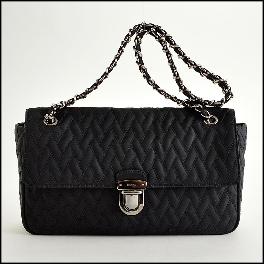 Prada Nylon Impunto Shoulder Bag