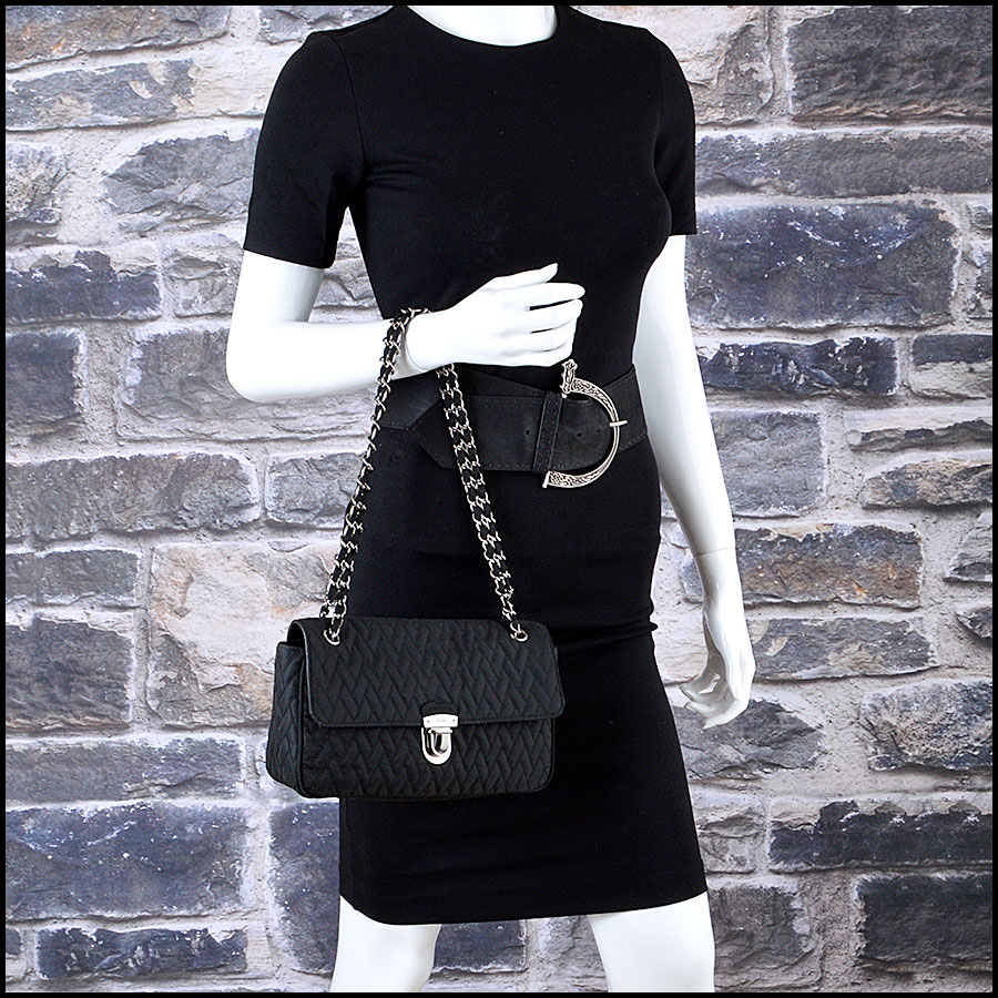 Prada Nylon Impunto Shoulder Bag mannequin