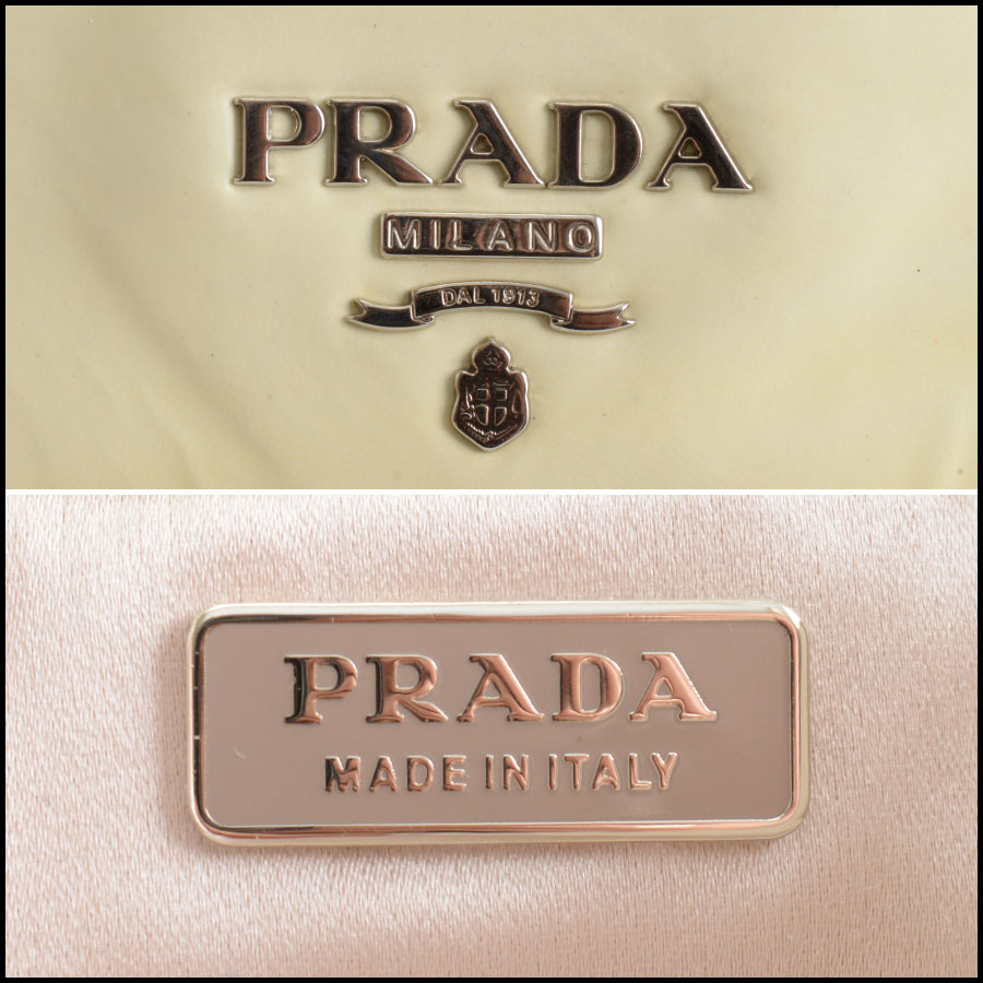 RDC9844 Prada Clutch Bag tag