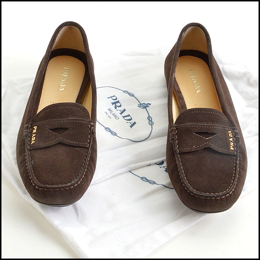 RDC8873 Prada Driving Penny Loafers