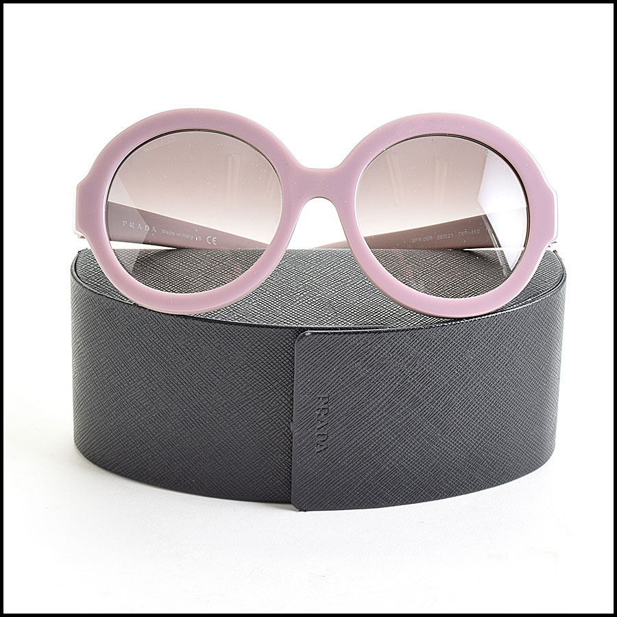 RDC9621 Prada Purple Round Sunglasses