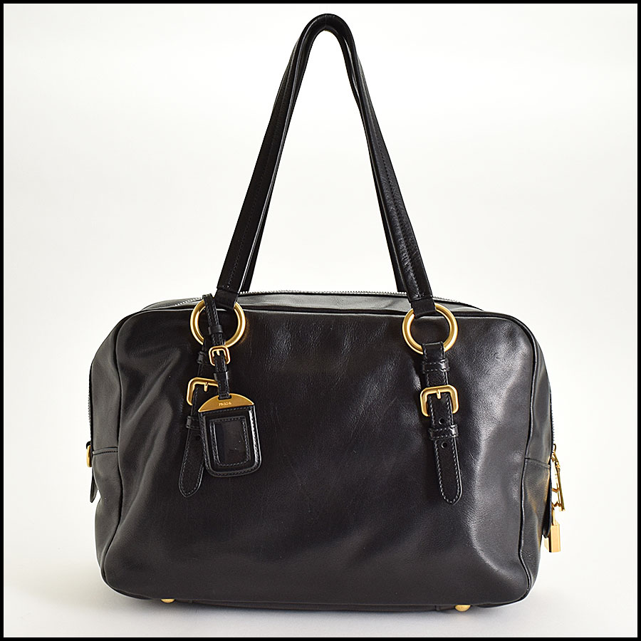 RDC9335 Prada Leather Tote  back