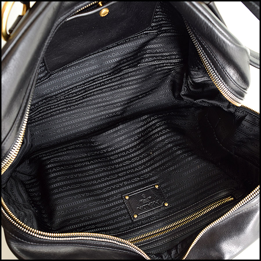 RDC9335 Prada Leather Tote  inside