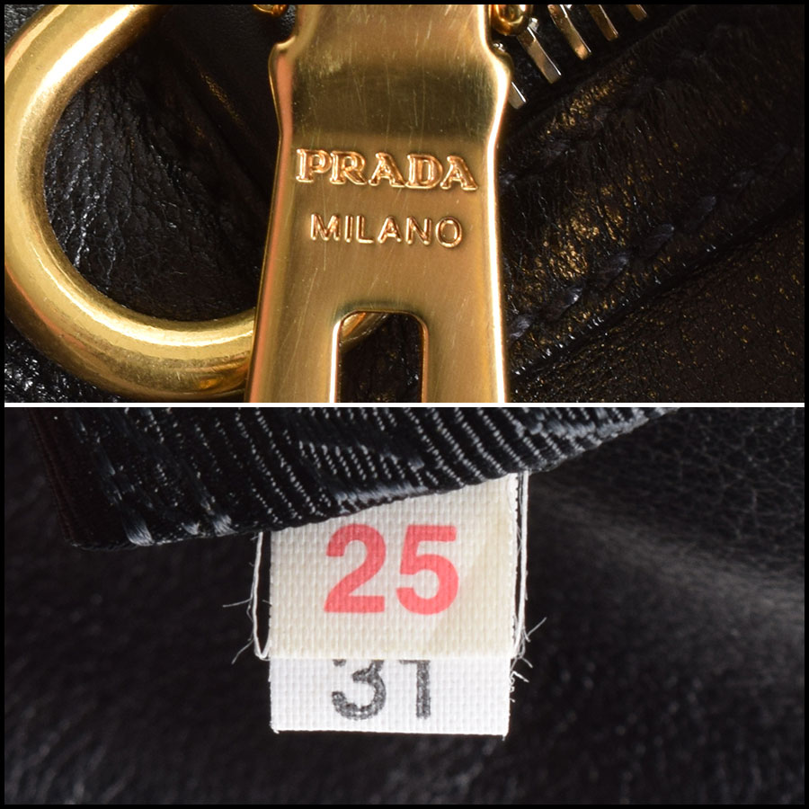 RDC9335 Prada Leather Tote  tag 1
