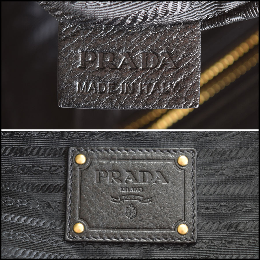 RDC9335 Prada Leather Tote  tag 2