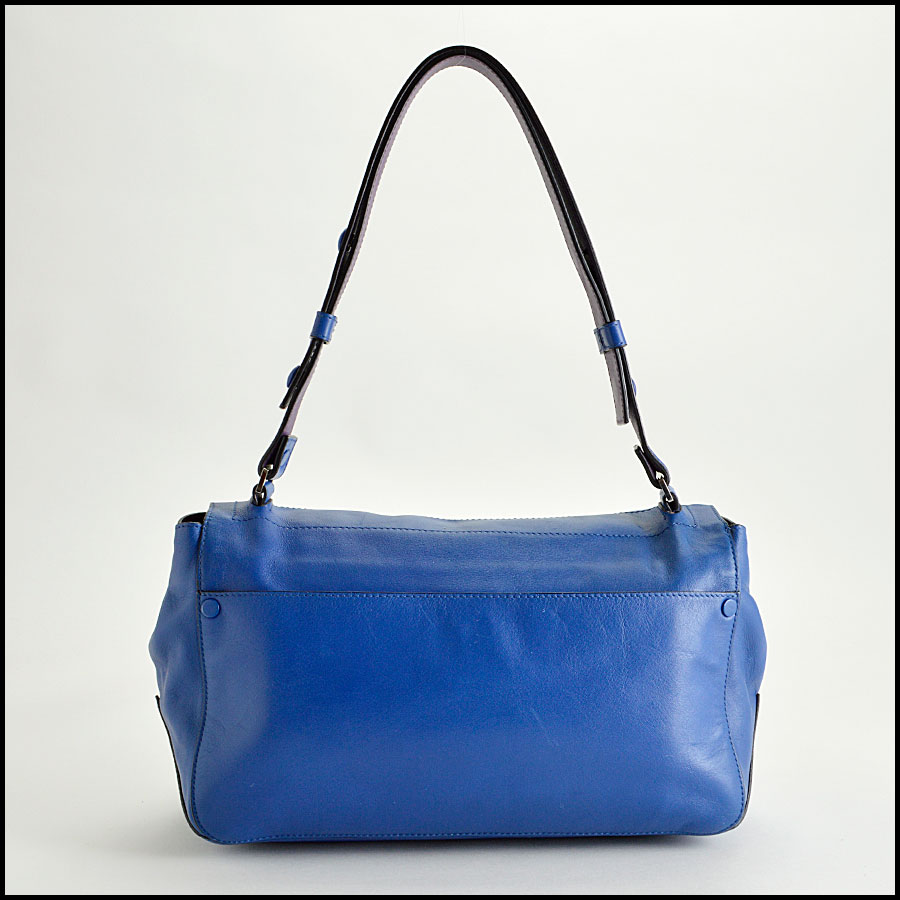 RDC8198 Proenza Schouler Blue/Veruca Courier PS1 Shoulder Bag back