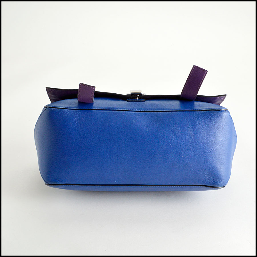 RDC8198 Proenza Schouler Blue/Veruca Courier PS1 Shoulder Bag bottom
