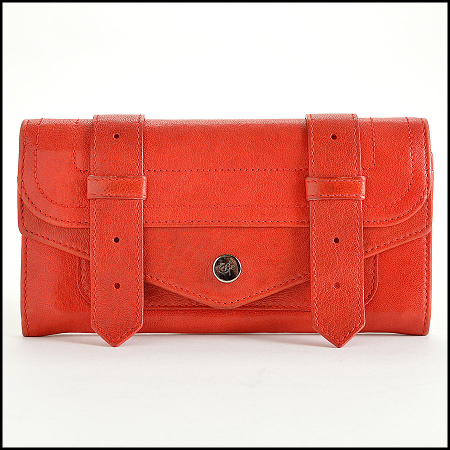 RDC7900 Proenza Schouler Red Leather Wallet