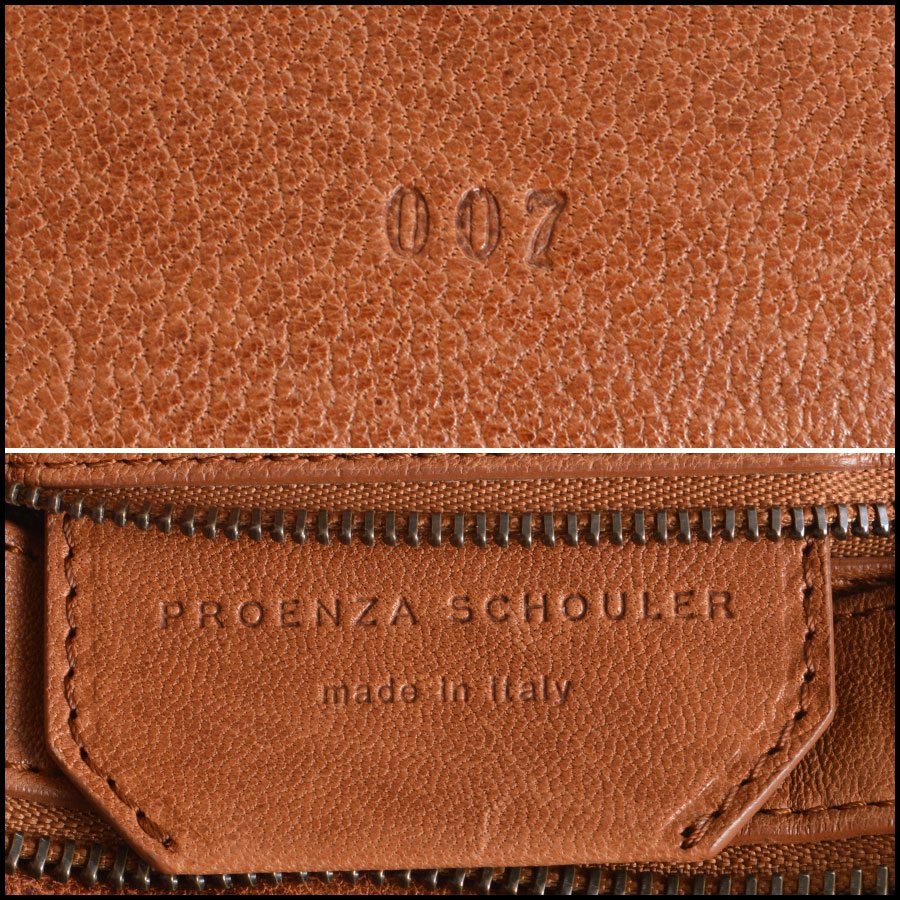 RDC7892 Proenza Schouler Saddle lux bag tag one