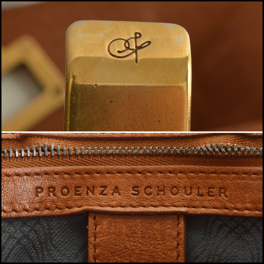 RDC7892 Proenza Schouler Saddle lux bag tag two
