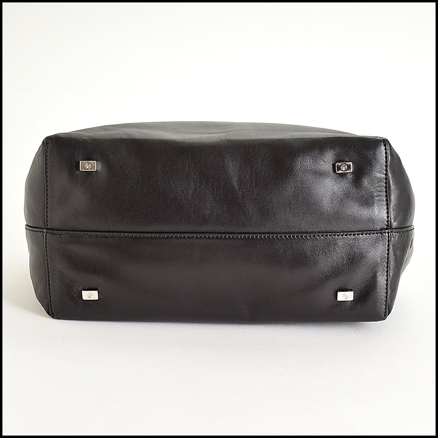 RDC9285 The Row Black Bag bottom
