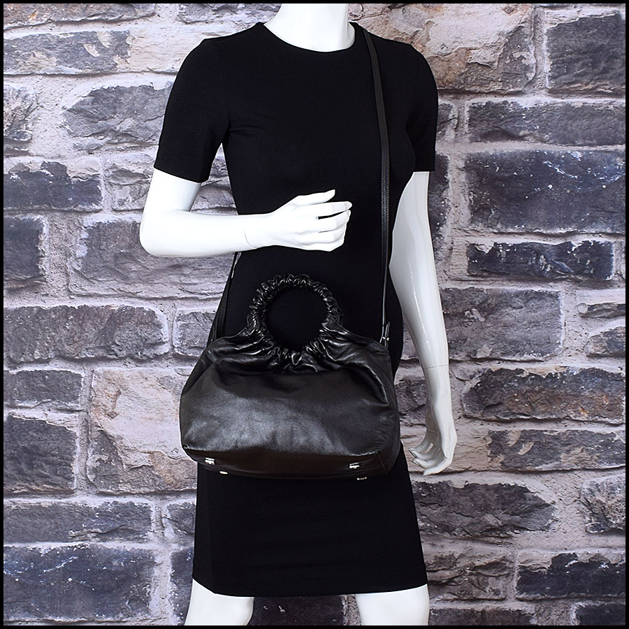 RDC9285 The Row Black Bag model