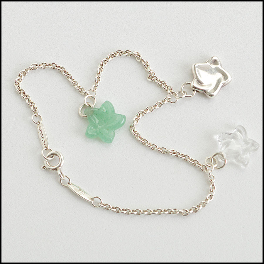 RDC8463 Tiffany and co rare elsa charm bracelet back