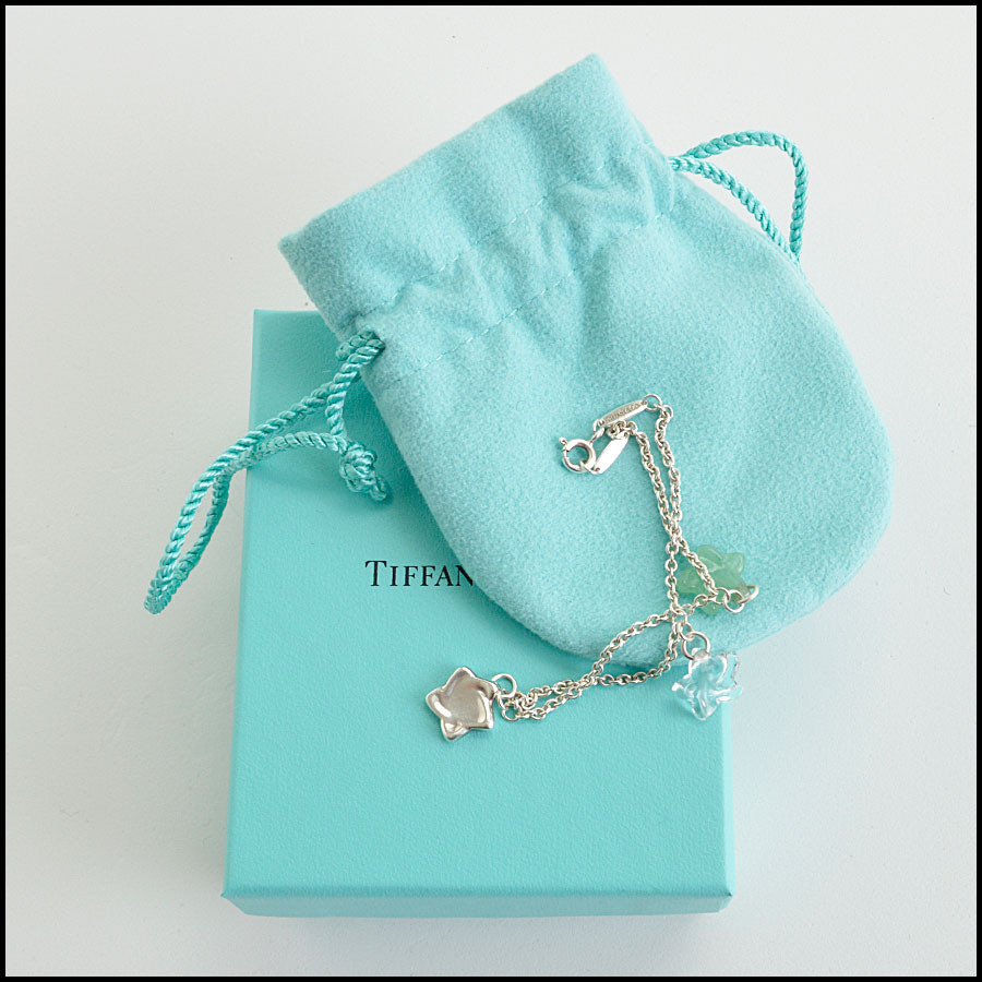 RDC8463 Tiffany and co rare elsa charm bracelet extras