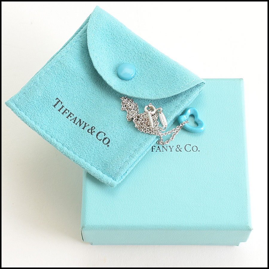 RDC8970 Tiffany Open Heart Necklace includes