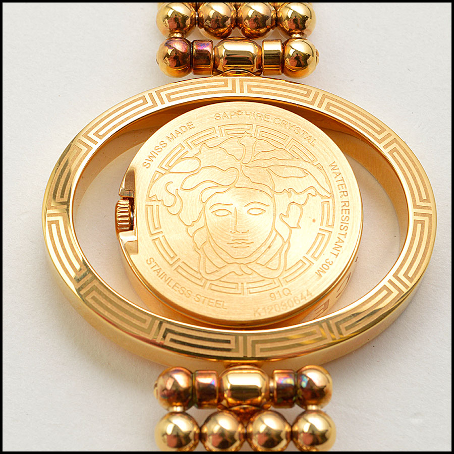 RDC8917 Versace Rose Gold Watch tag 2