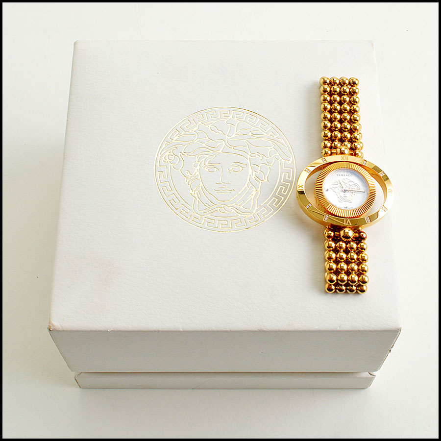 RDC8917 Versace Rose Gold Watch includes 1