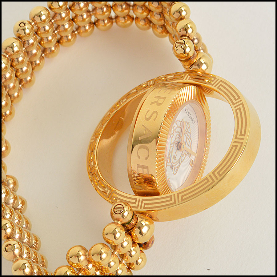 RDC8917 Versace Rose Gold Watch side