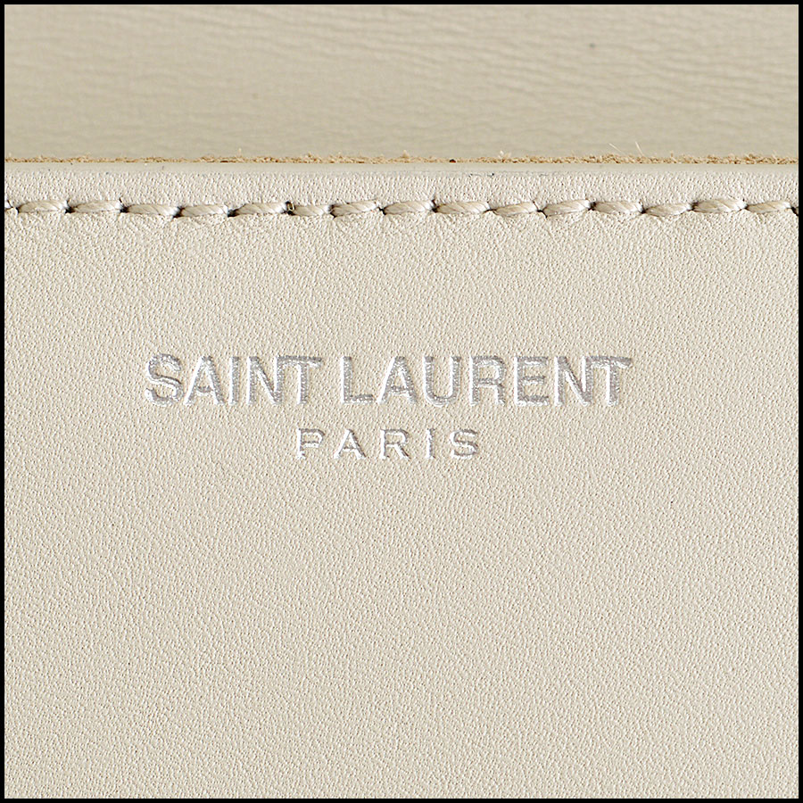 RDC8041 Saint Laurent Taupe Mini Studs clutch tag 3