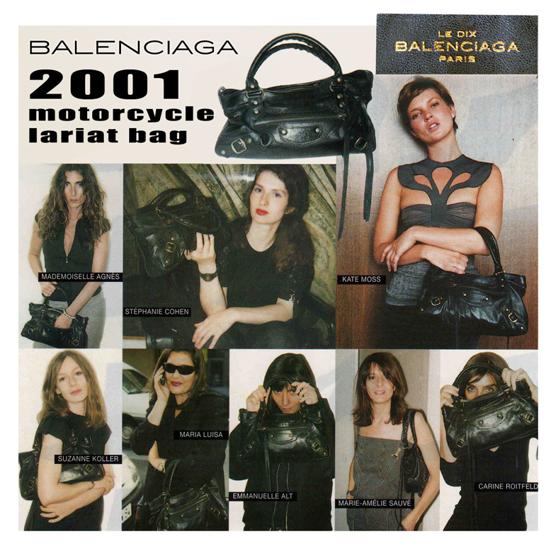 First Decade of Balenciaga Motorcycle Bag History: REAL DEAL ...