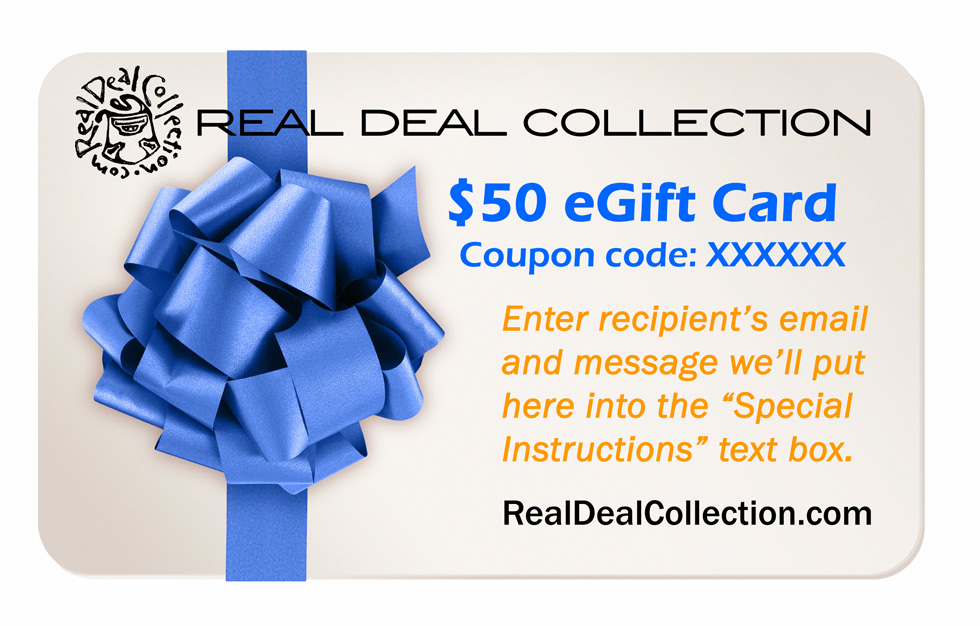 Real Deal Collection Gift Cards